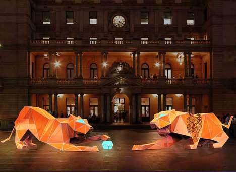 Chinese Lantern Tigers
