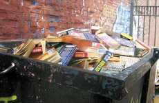 Tragic Book Trashing