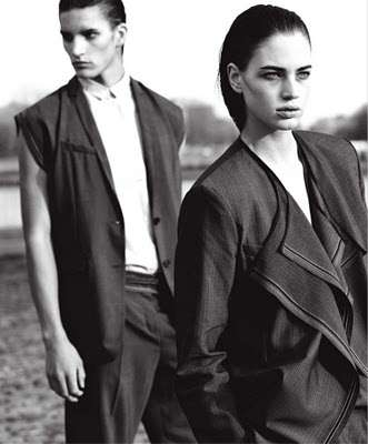 The Dior Homme Spring/Summer 2010 Collection in Surface Magazine