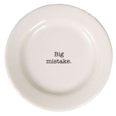 Verbally-Abusive Dinner Plates