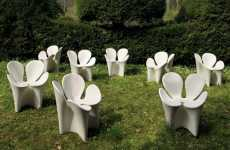 Four Leaf Clover Chairs - The Ron Arad White Clover Chair Will Bring You Good Luck