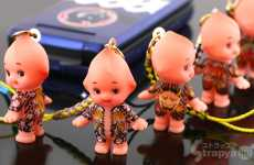 Hoodlum Dollies - The Choryu Roppongi Yakuza Kewpie Doll is Gangster