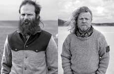 Scruffy Nomadic Fashions - The Kapital AW 2010 Collection Modeled by Manly Men