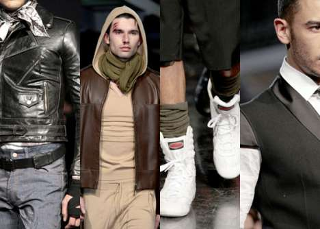 Boxing-Inspired Fashions - The Jean Paul Gaultier AW '10 Line Melds Sports and High Fashion