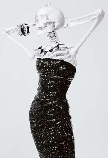 Skeleton Fashion Models