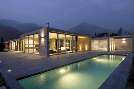 Minimalist Mountain Homes