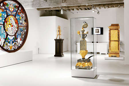 Religious Relic-Inspired Art