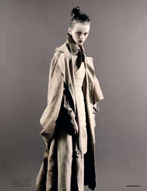 Kabuki-Inspired Fashiontography