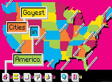 Gay-Friendly City Rankings