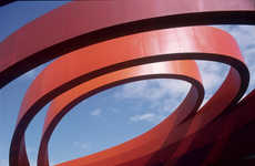 Ribbon-Wrapped Architecture - New Ron Arad Design Museum to Open Soon in Israel