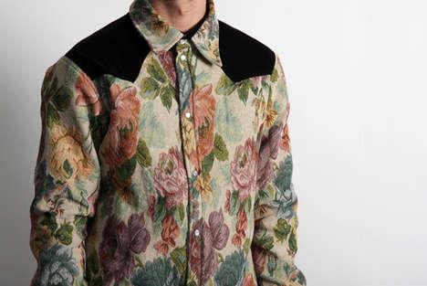 Safari Floral Men's Shirts