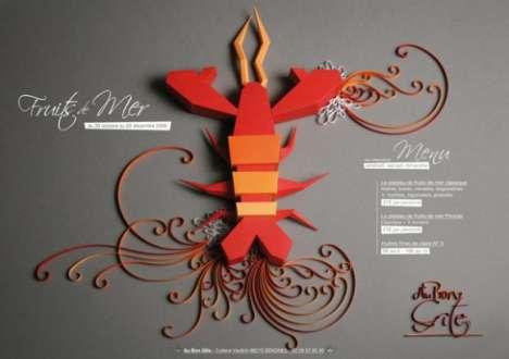 Origami Menus