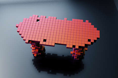 Permutated Pixel Furniture