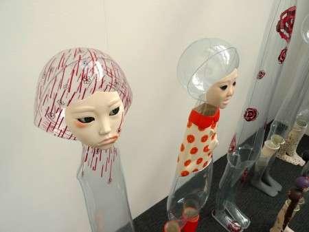 Transparent Figurine Art