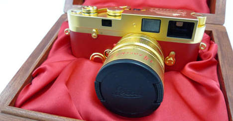 60 Gold-Plated Leicas Made for 60 Years of Chinese Communism