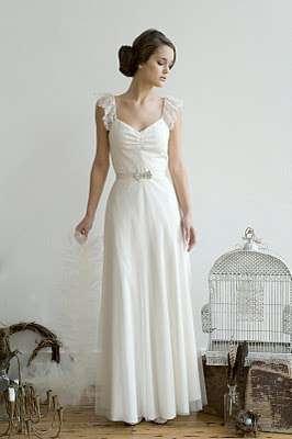 Slip-Like Weddings Gowns