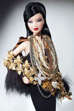 Couture Chained Barbies - Designers Upgrade the CFDA Barbie Basic Doll With Personal Style