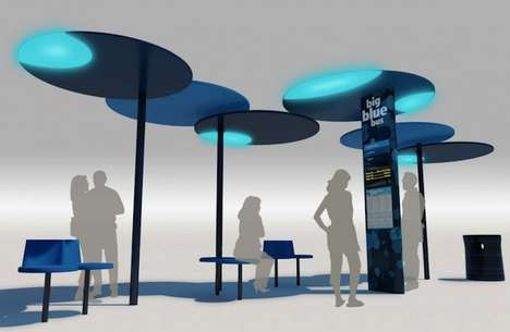 Revamped City Bus Stops