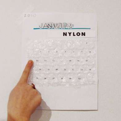 The Bubble Calendar is for Childish Grown-Ups