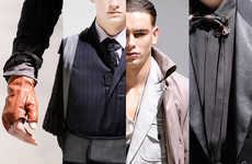 Blade Runner Fashion - The Lanvin AW10 Collection Features Futuristic Staples