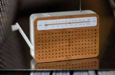 Tiny Bamboo Radios - The Lexon Sustainable Products are Eco-Conscious and Stylish