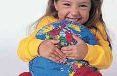 Cuddly Globes - Hugg-A-Planet Helps Little Ones Learn About Maps
