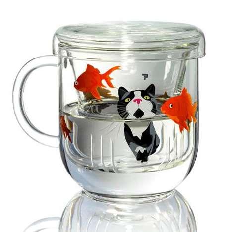 Scenic Glass Teaware