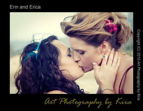 Lesbian Winery Weddings - Erin and Erica's Fantasy Nuptials Showcase Who They Are