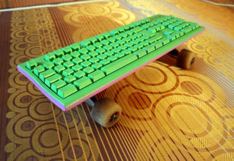 Skateboarding Keyboards