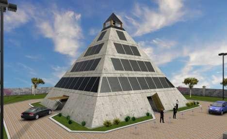 Disaster-Safe Pyramids