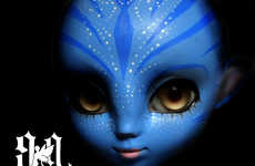 Avatar Dolls - Chinese Artist Makes Her Own Blue Navi