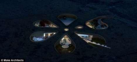 Flower-Shaped Eco Homes