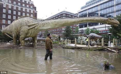 Urban Dino Playgrounds