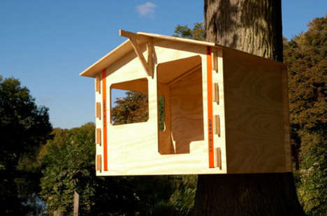 Flatpack Tree Dwellings