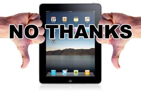 Geek iPad Backlashes