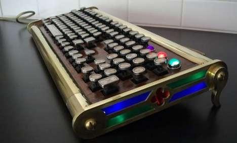 Titanium Typing Machines