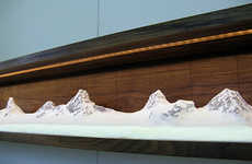 Mountainous Home Decor