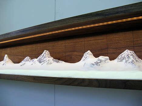 Mountainous Home Decor