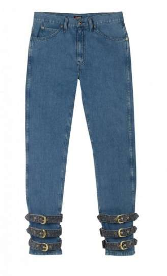 Ankle-Strapped Jeans
