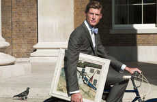 British Boy Fashions - The Hackett SS10 Collection Helps Men With the Art of Dressing