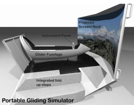 Portable Flight Simulators