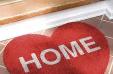 Romantic Welcome Mats