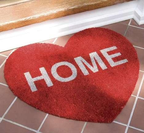 Romantic Welcome Mats
