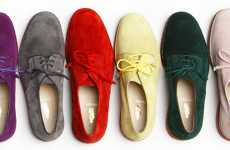 Colored Classic Oxfords - The Jay Kos Spring Collection Features Tasteful Technicolors