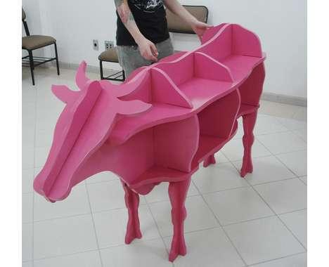 15 Animal-Shaped Furniture Designs