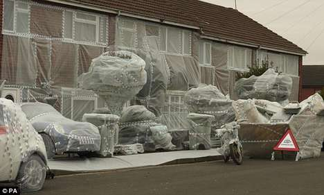 Bubble-Wrapped Streets - The Highest Accident Road in the UK Has Packaging-Inspired Protection