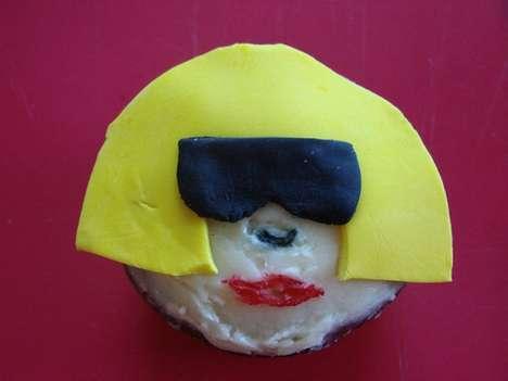 """Bad Romance"" Cupcakes"