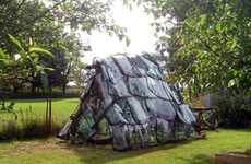 Reused Windshield Greenhouses - Sebastien Ramirez Makes Greenhouse Out of Car Windows