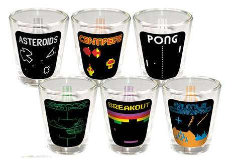 Shot Glasses for Gamers
