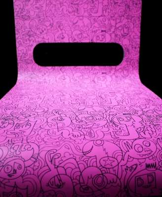 Funky Pink Seats